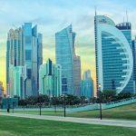 Doha's skyline, Qatar