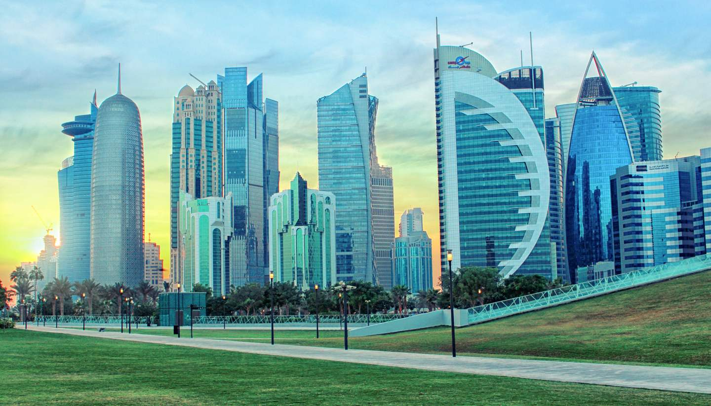 City Highlight: Doha - Doha's skyline, Qatar
