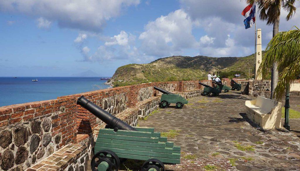 St Eustatius - Fortress Oranjestad, StEustatius