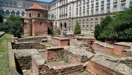 Fascinating ruins of ancient Serdica