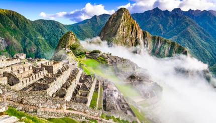 Inca ruins in Cusco region