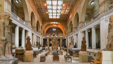 Interior of Museum of Antiquities