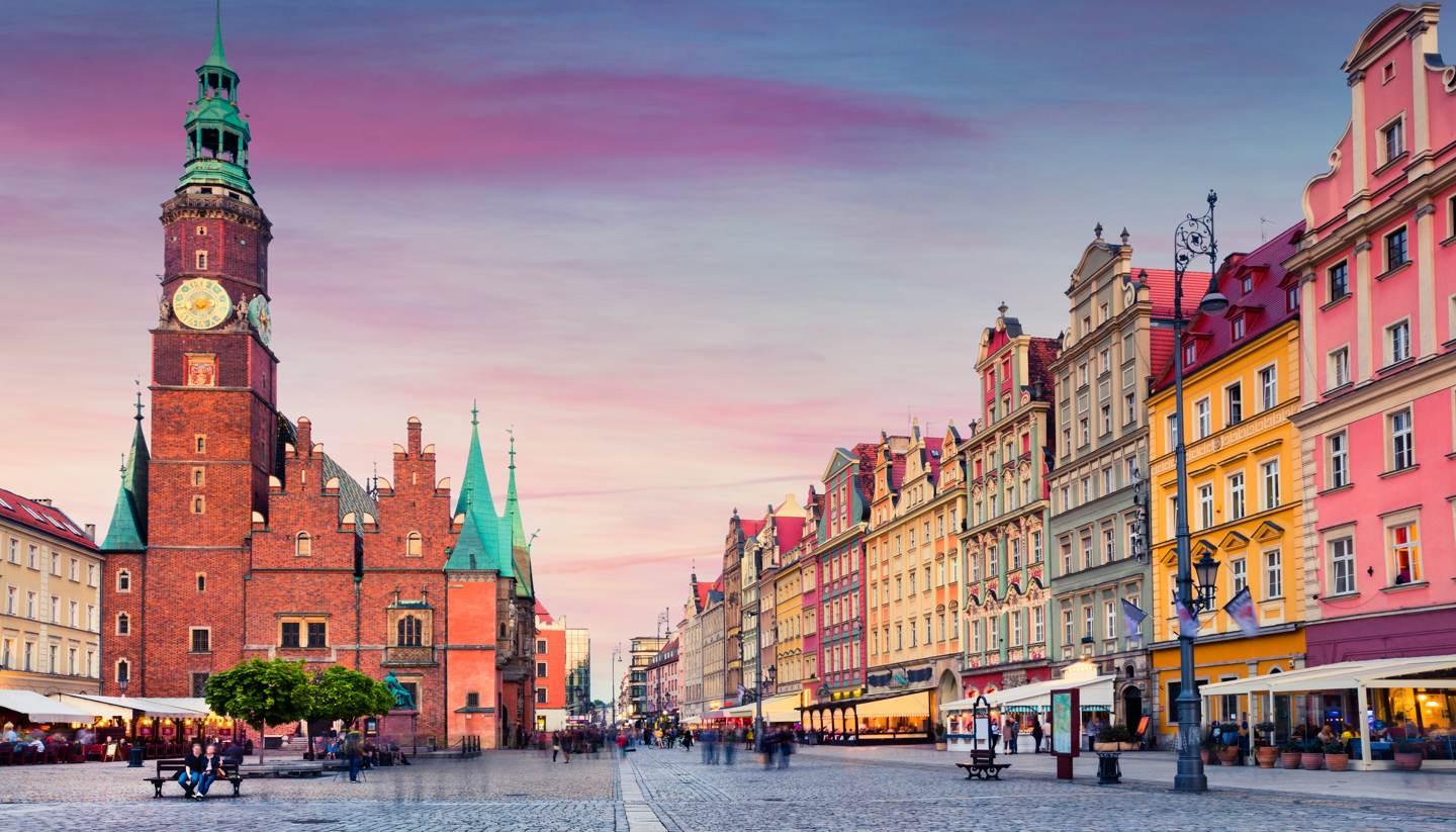 10 things to see and do in Wrocław - Sunset in Wrocław, Poland