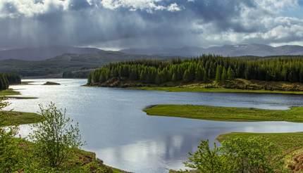 Loch Laggan, Scotland