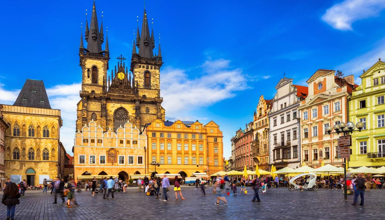 Prague world travel guide for Prague square