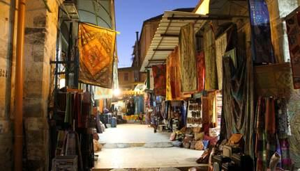 Souk in Old Town Jerusalem