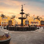 Panoramic view of Lima main square