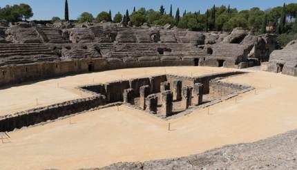 Italica roman amphitheatre, Seville