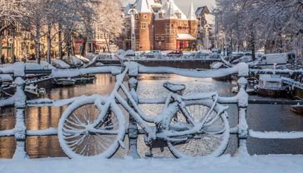 Amsterdam in winte