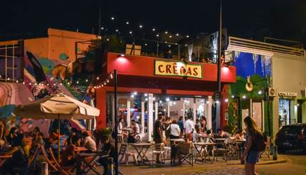 Crepas cafe