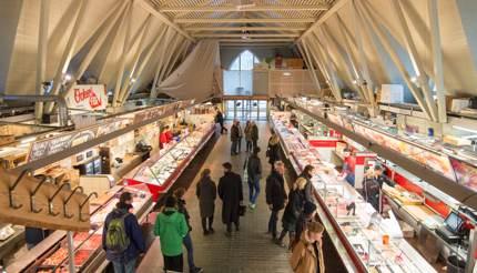 The fish market, Feskekôrka