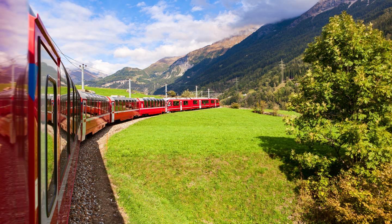 Glacier Express, a UNESCO heritage site