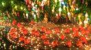Thailand's magical Loi Krathong Festival - Loi Krathong - Wat Phan Tao temple
