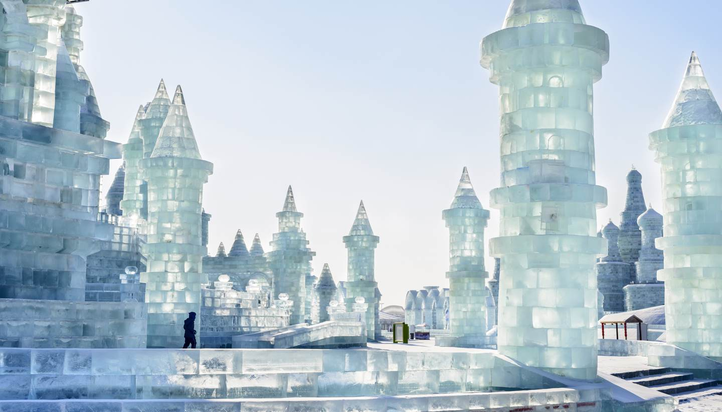 how to get to harbin ice festival