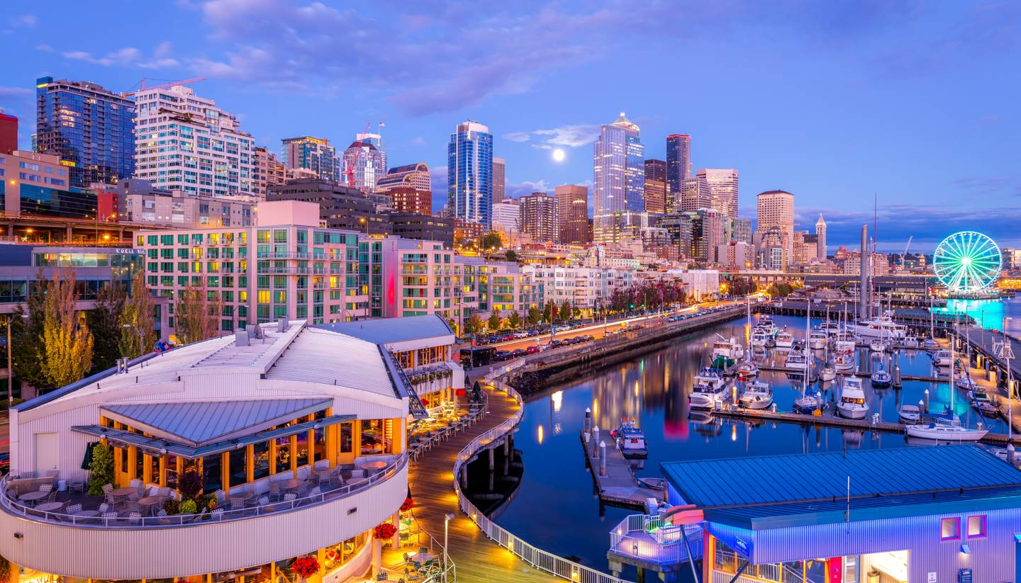 City Highlight: Seattle - Downtown Seattle Pier66