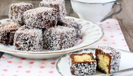 Lamingtons are delicious