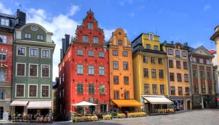 Stortorget square in Stockholm center