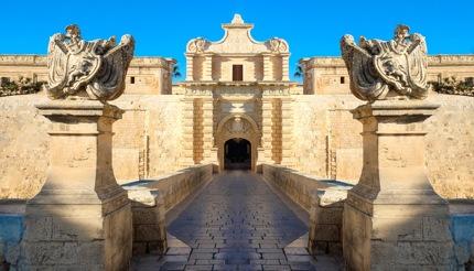 Mdina city gate, Malta