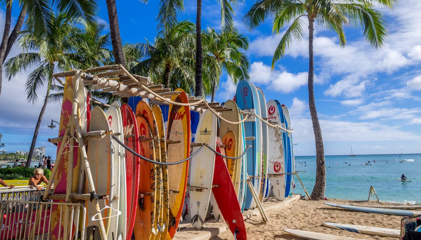 City Highlight: Honolulu - shu-Hawaii-Honolulu-SurfShop-469698125-EDITORIALONLY-1440x823