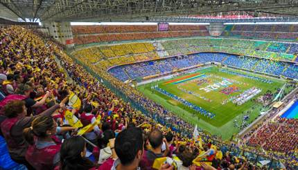 Pope Mass at San Siro Stadium