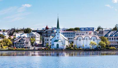 Reykjavik city scape