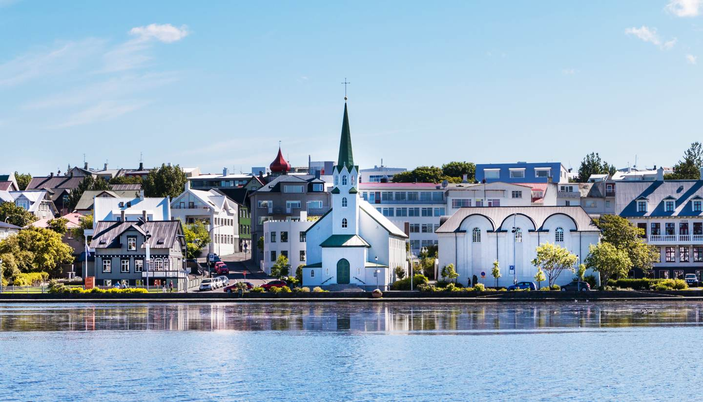 Where to go on holiday in March 2018 - Reykjavik city scape