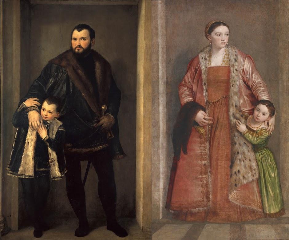 Count Iseppo da Porto and Countess Livia da Porto Thiene, on loan from Walters Art Museum and Galleria degli Uffizi
