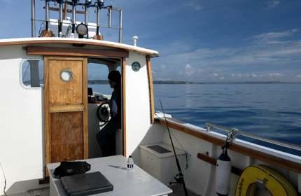 Join skipper James Brown onboard Madeline Rose