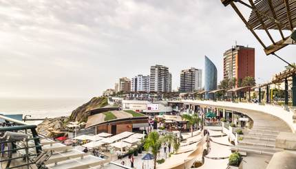 Larcomar mall in Miraflores