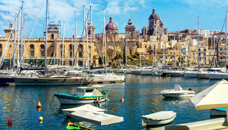 City Highlight: Valletta - Grand Harbour, Valletta, Malta