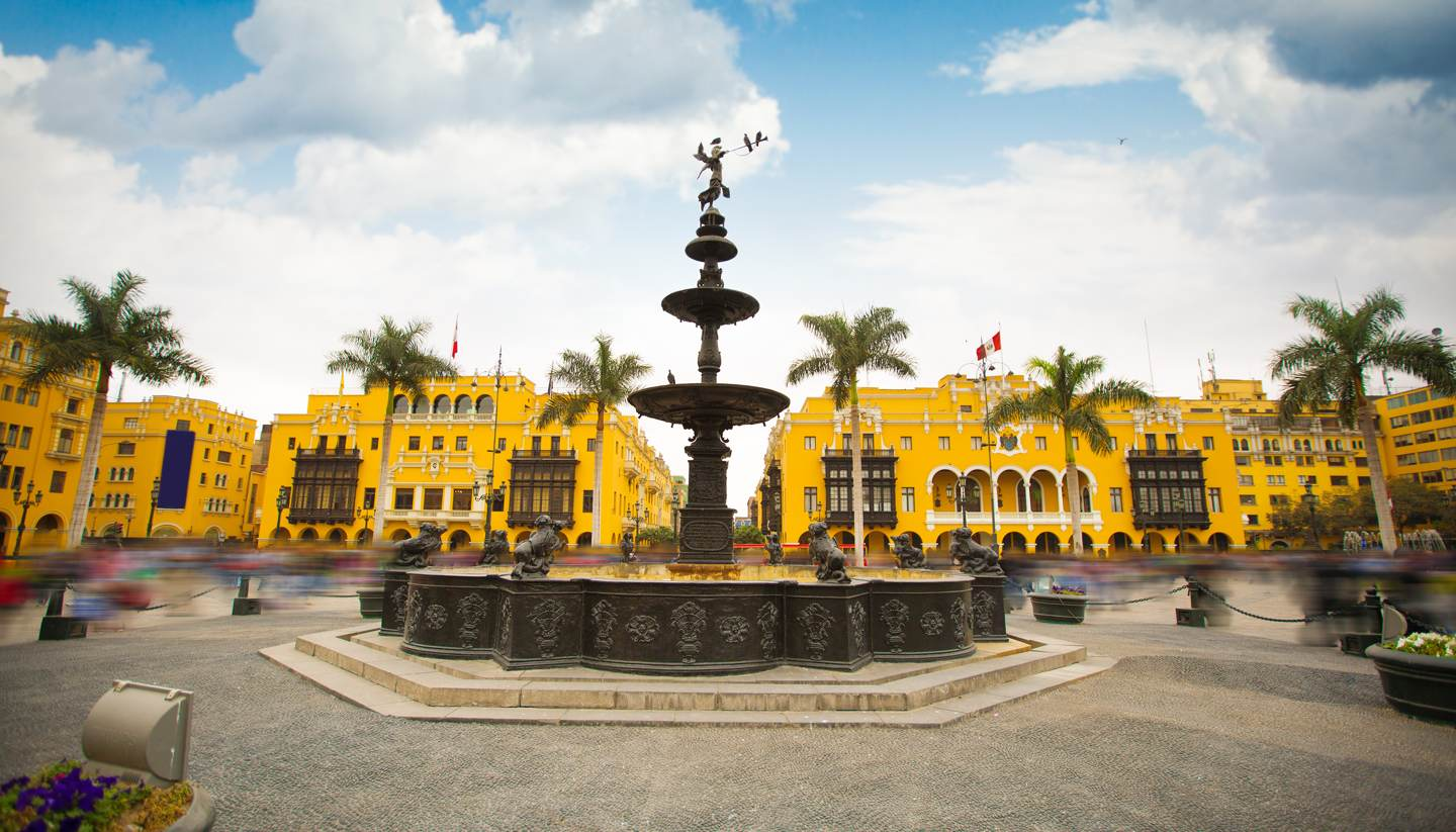 City Highlight: Lima - Old town main square