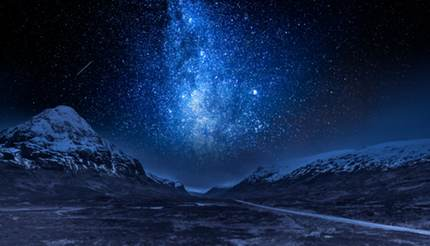Milky Way in Scotland