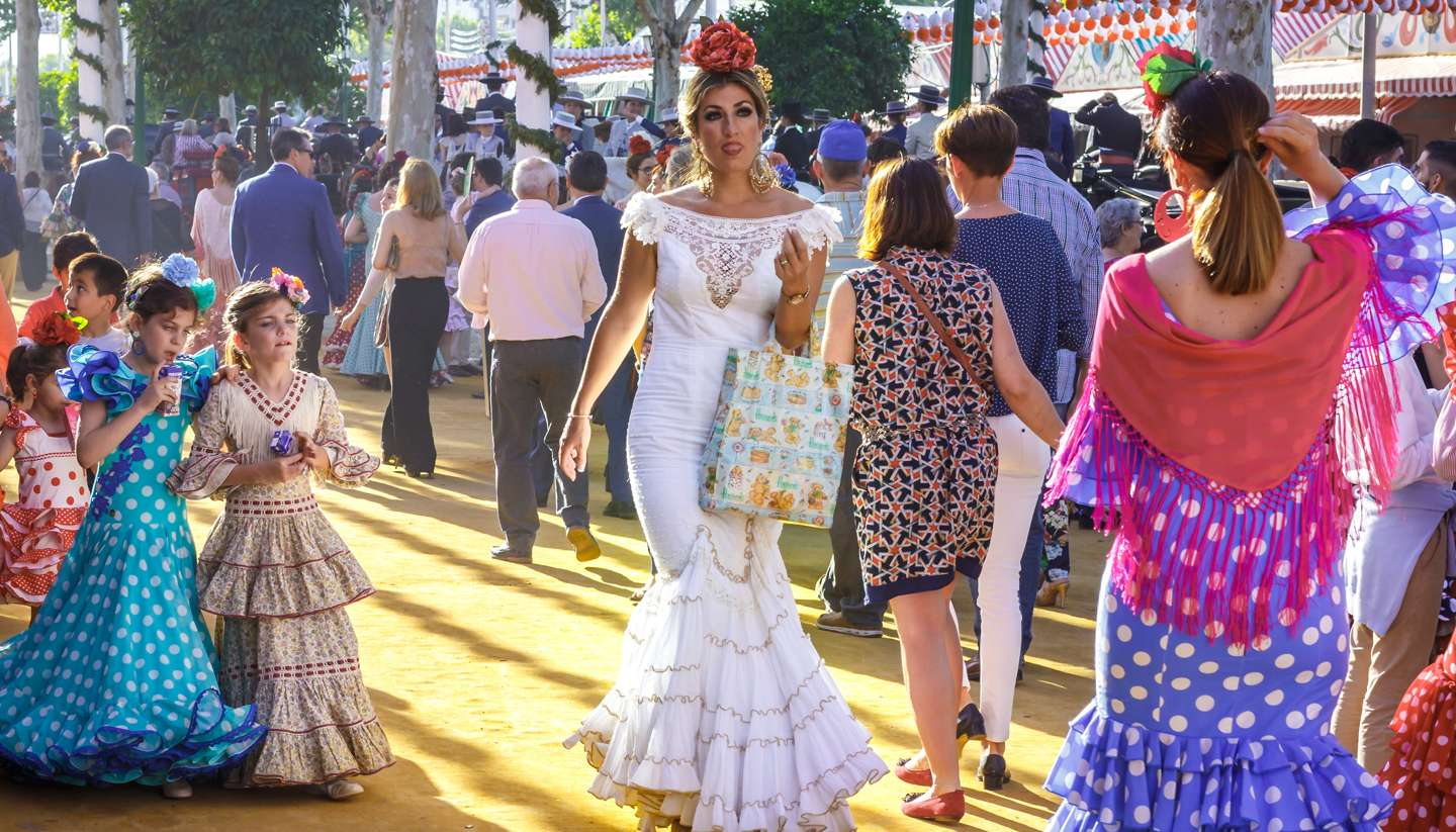 Where to go on holiday in April 2018 - Feria de Abril festival, Seville, Spain