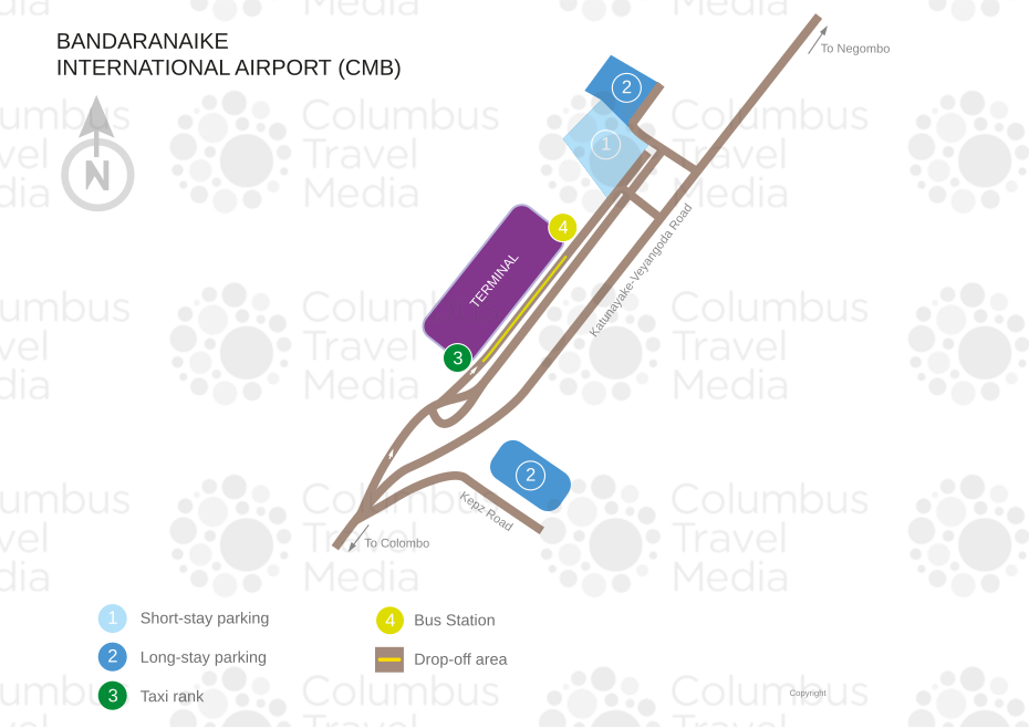 Colombo Bandaranaike Airport World Travel Guide