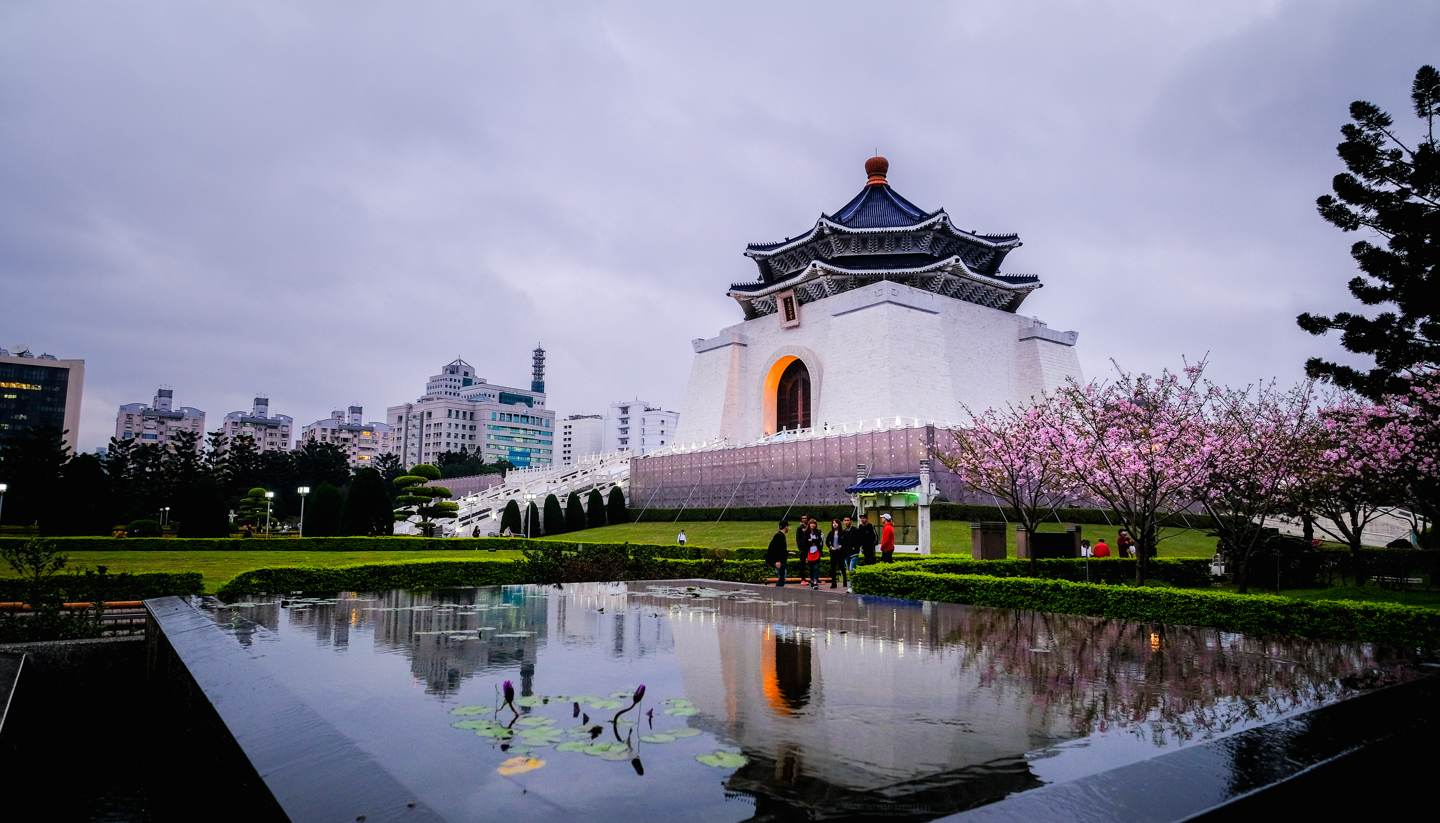 Where to go on holiday in May 2018 - Chiang Kai Shek Memorial Hall