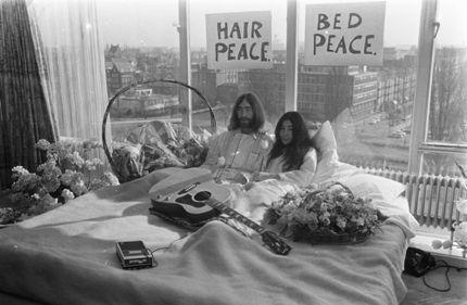 John & Yoko in 1969