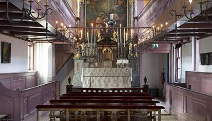 Our Lord in the Attic Museum is the second oldest museum in Amsterdam