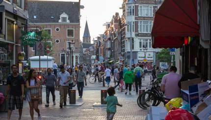 Haarlemmerstraat in Amsterdam