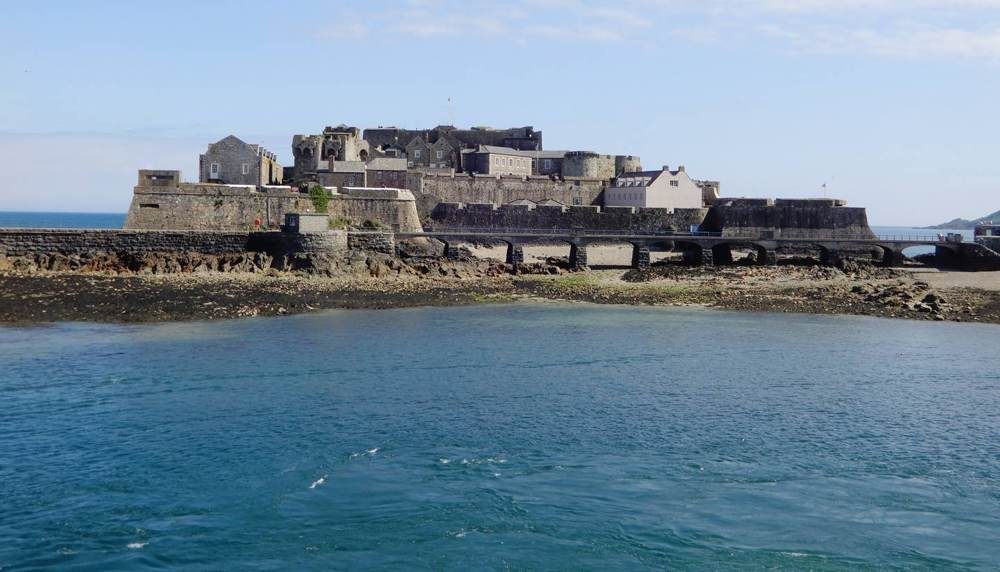 Castle Cornet has been guarding the harbour of St Peter Port for 800 years