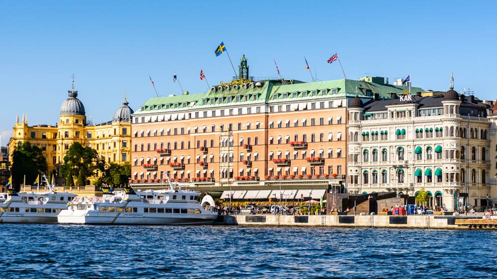 Grand Hotel, a five-star hotel in Stockholm