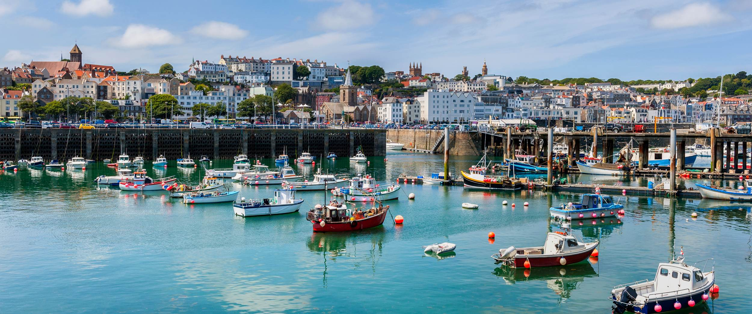 A glorious break in Guernsey - Harbor and Skyline of Saint Peter Port