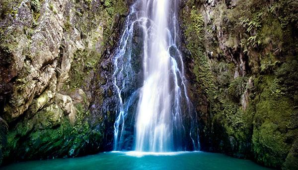 Aguas Blancas Waterfall in Constanza, Dominican Republic