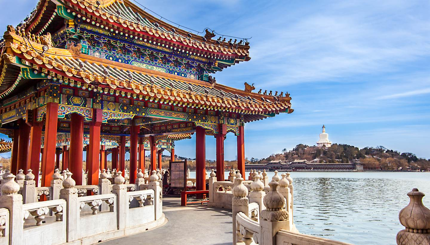 City Highlight: Beijing - Beihai Park in summer, Beijing, China