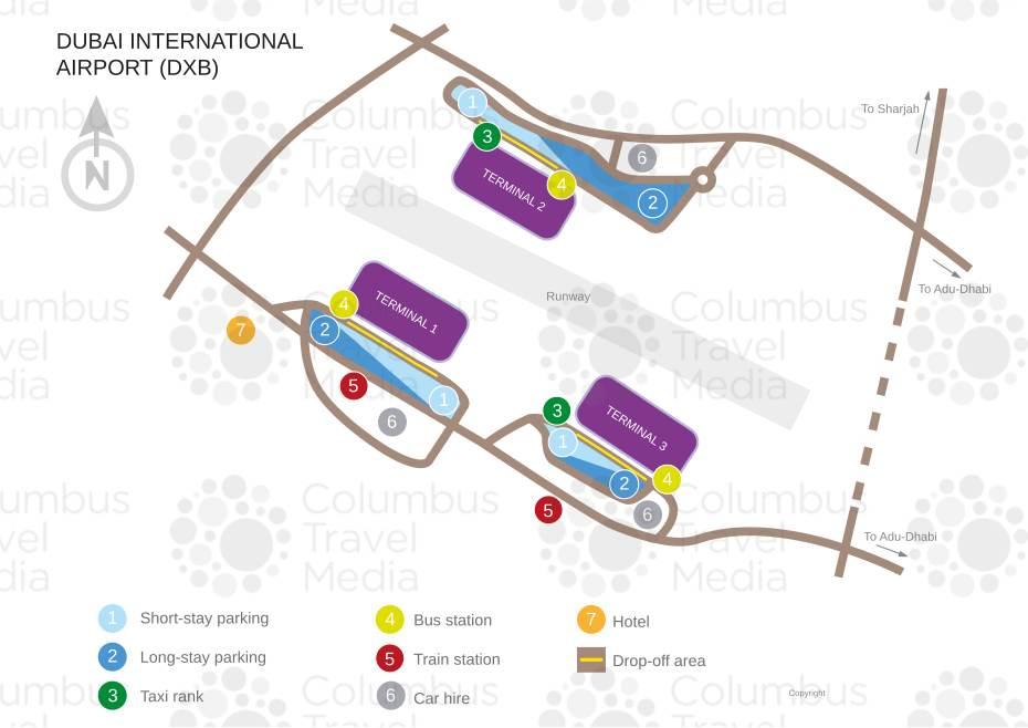 Dubai International Airport World Travel Guide