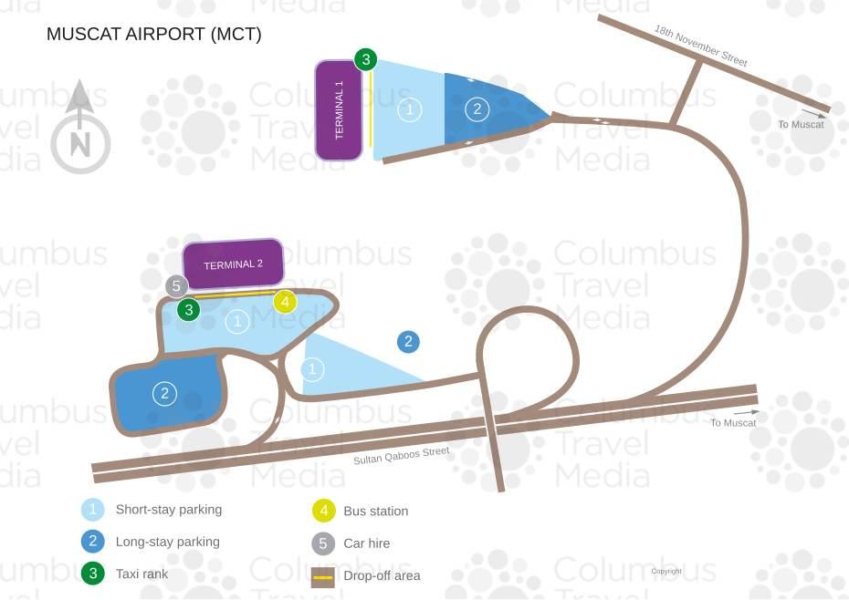 Muscat International Airport World Travel Guide