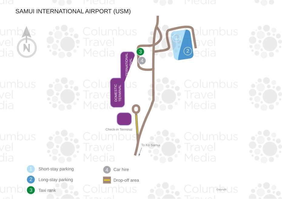 Koh Samui Airport Map Samui Airport | World Travel Guide