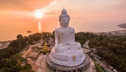 The Big Buddha, Karon, Phuket, Thailand