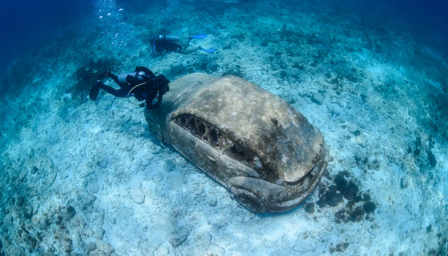 The 12 strangest museums around the world - Underwater Museum, Isla Mujeres, Mexico