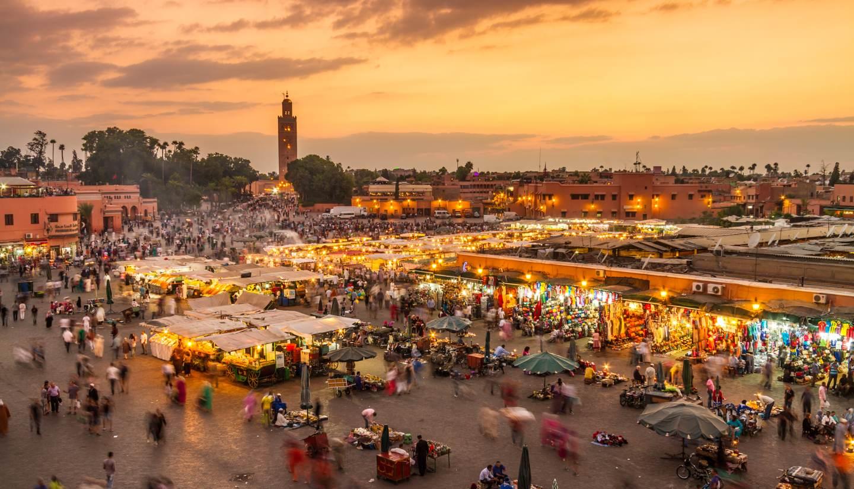 Where to go in November 2018 - Jamaa el Fna, Marrakech, Morocco