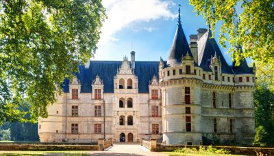 Chateau d'Azay le Rideau, Loire Valley